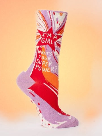 I'm A Girl, Super Power Socks