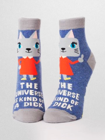 Women's crew socks with sassy sayings are the perfect for letting the world know how you feel - awesome clothes for the toes