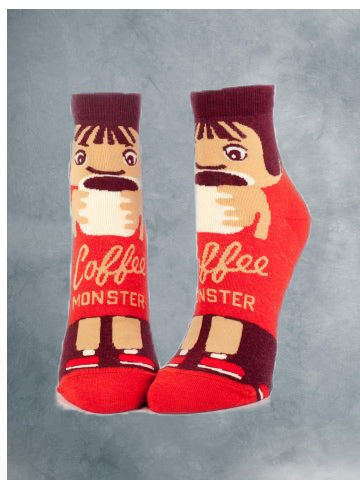 Coffee Monster Socks