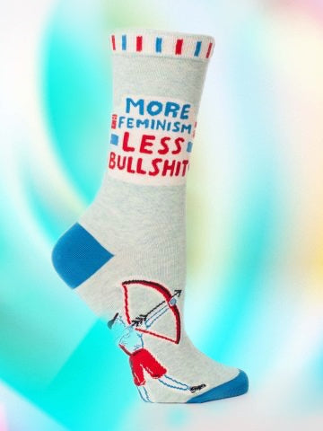 More Feminism, Less Bullshit Socks