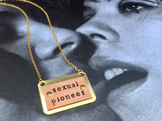 Sexual Pioneer  Necklace