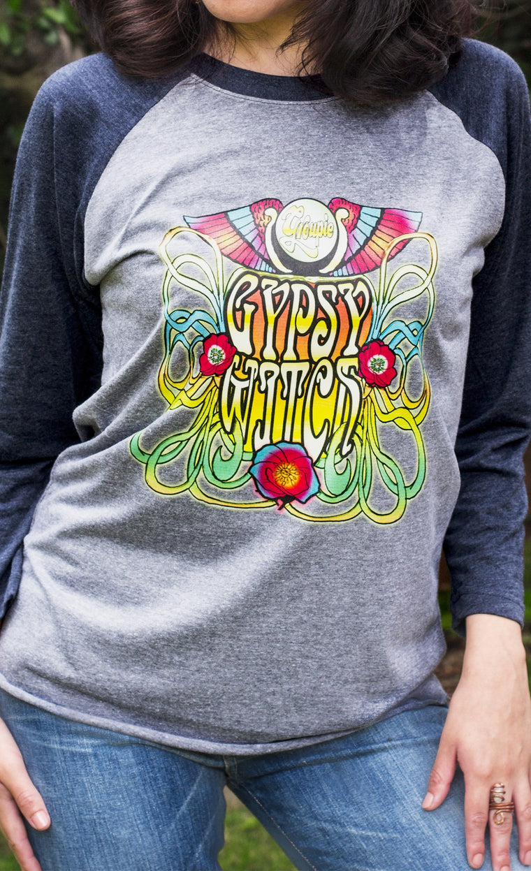 Gypsy Witch Baseball shirt