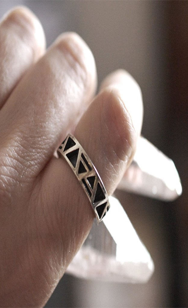 Four Elements Band Ring
