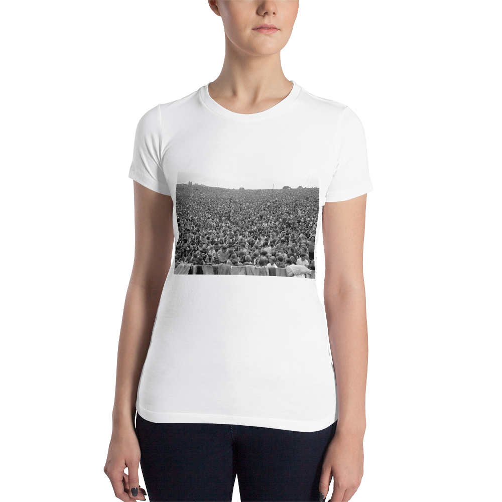 Woodstock Tee - Baron Wolman Photo  limited edition