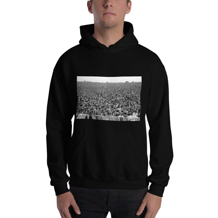 Unisex Woodstock Hooded Sweatshirt - Baron Wolman photo  limited edition