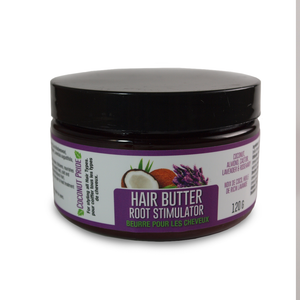 Hair Butter- Free Root Stimulator- Coconut, Almond Oil and Lavender EO.
