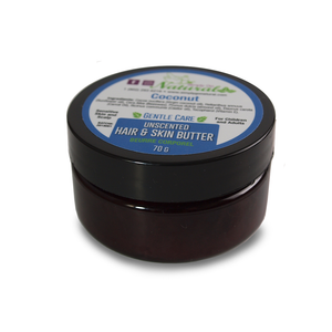 Hair and Skin Butter - Coconut- Almond -Sensitive Care