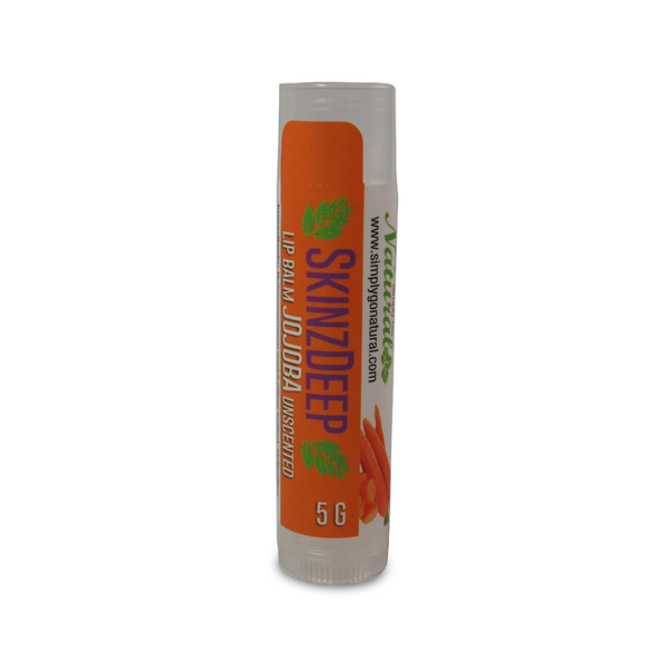 Lip Balm- Shea Butter-Jojoba-Carrot Oil