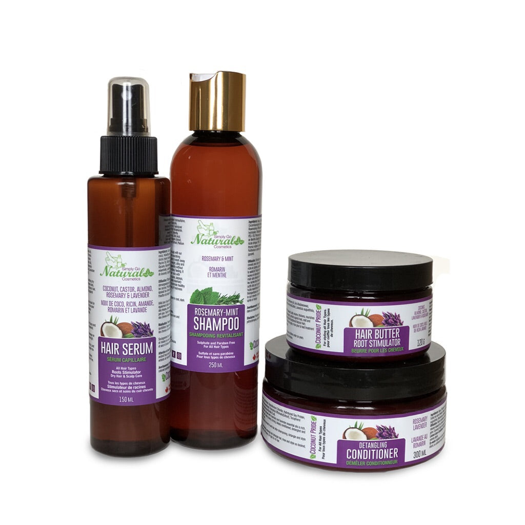 Straight/Relaxed Hair Care Starter Kit