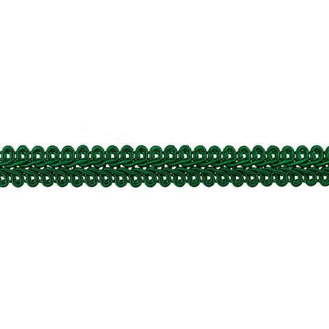 Galon Crochet de Rayon Color Verde Bandera