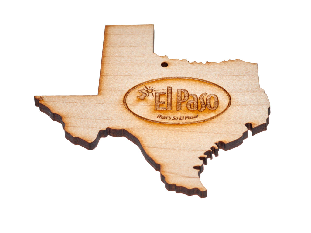 Ornament - Wooden Texas