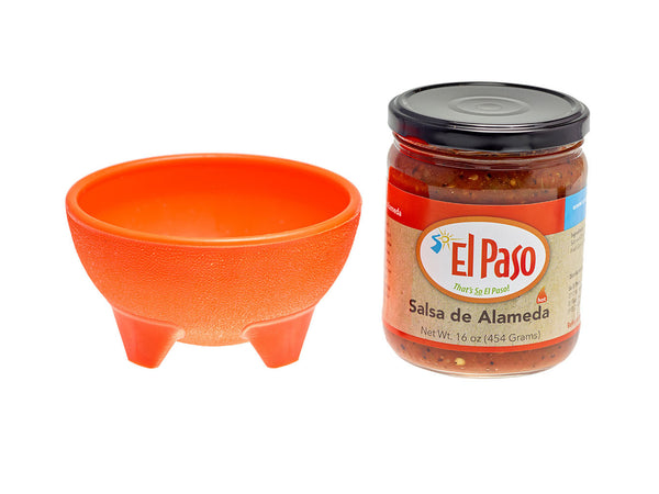 Salsa de Alameda with Orange Bowl