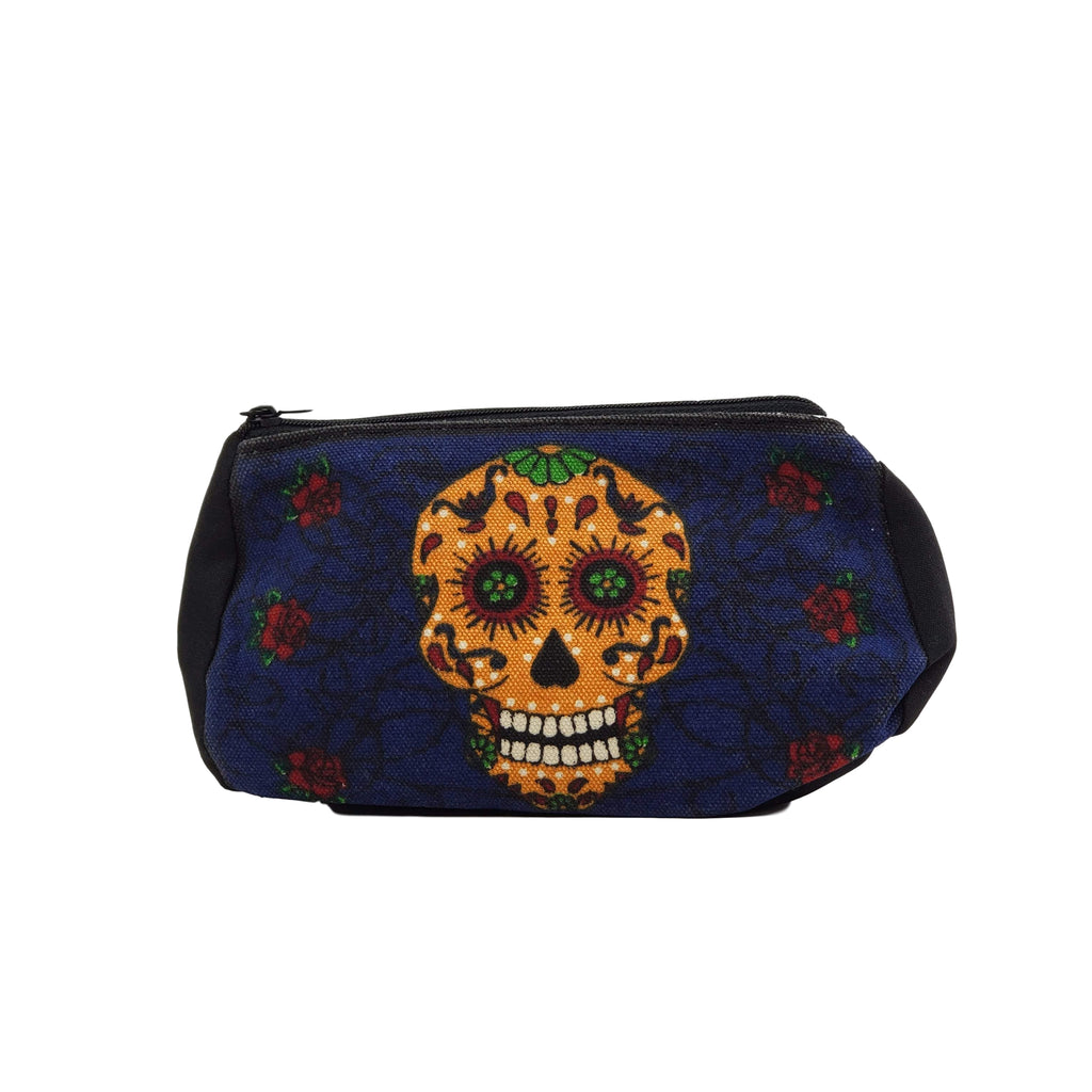 Pencil Case - Blue Skull Candy Mayer