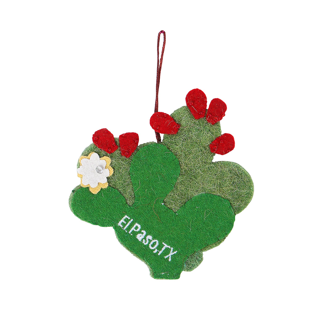 Ornament - Recycled Prickly Pear