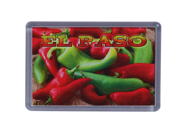 Magnet - El Paso Chile Peppers