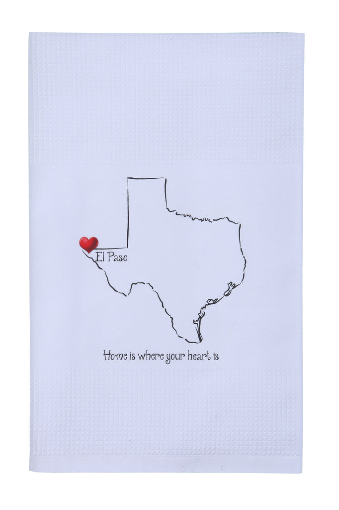 Tea Towel - Home is where your heart is