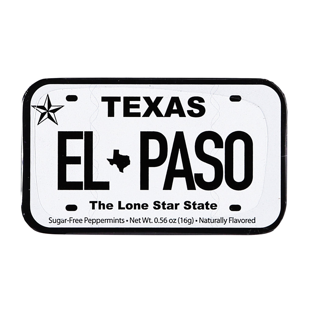 Mints - El Paso License Plate