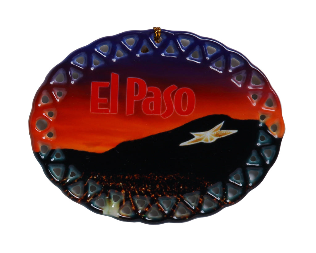Ornament - El Paso Star on the Mountain