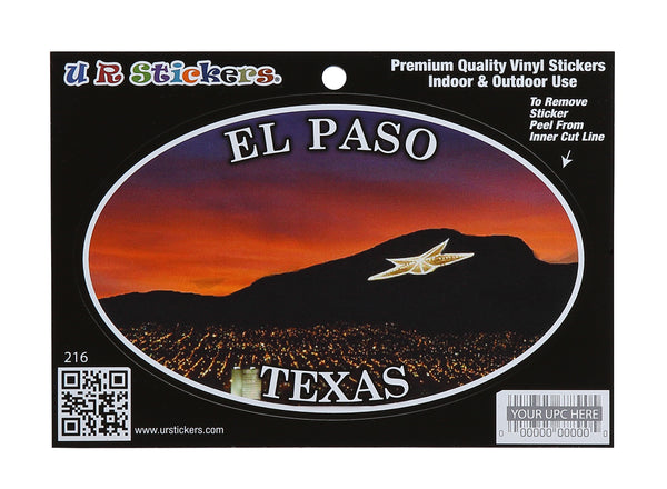 Sticker - El Paso Texas Sticker