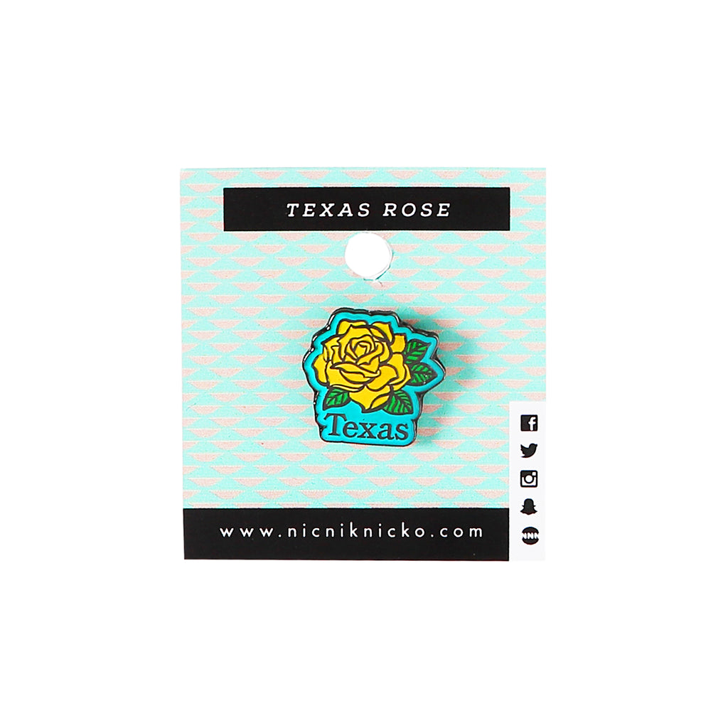 Pin - Texas Rose