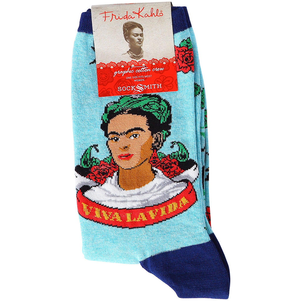 Socks(W) - Viva La Frida Sky Blue