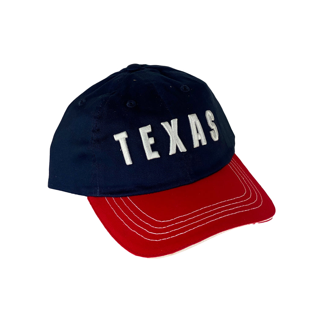 Hat- Tx White Stitching