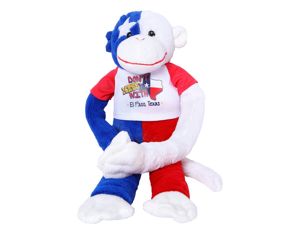 Plush - Texas Flag Monkey