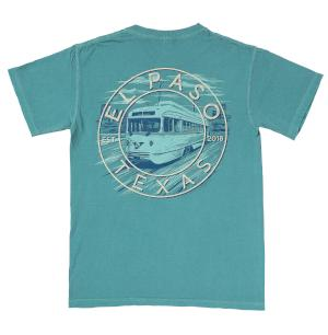 Shirt - Seafoam Trolley