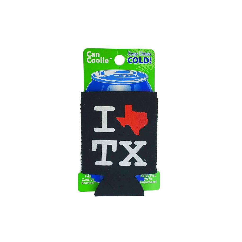 Coozie - I Heart Texas