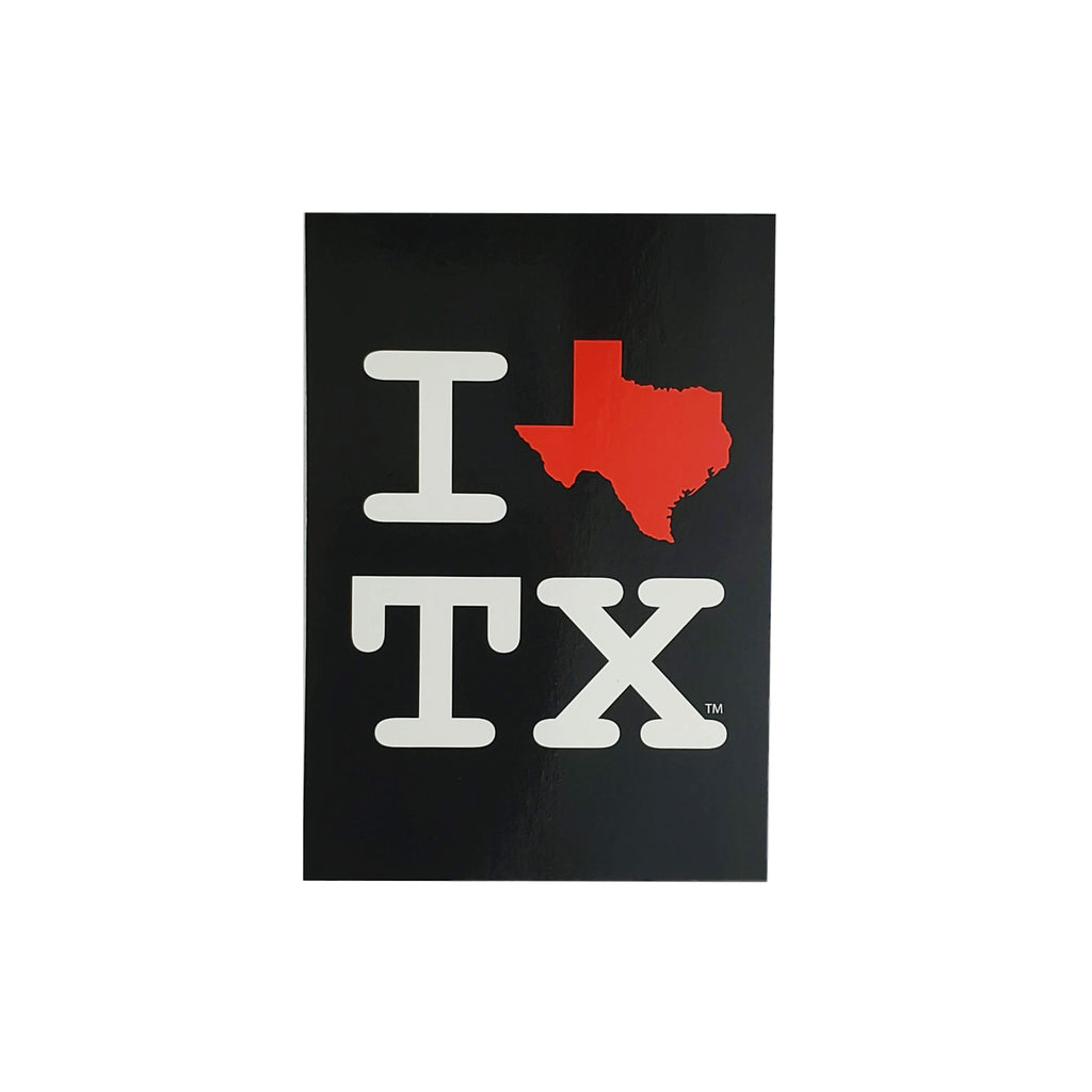 Postcard -  I Heart Texas