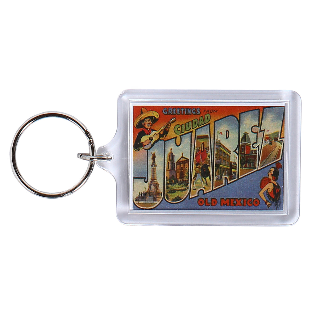 Keychain - Greetings From Juarez