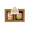 Chile con Queso and Salsa de Mesa Gift Box