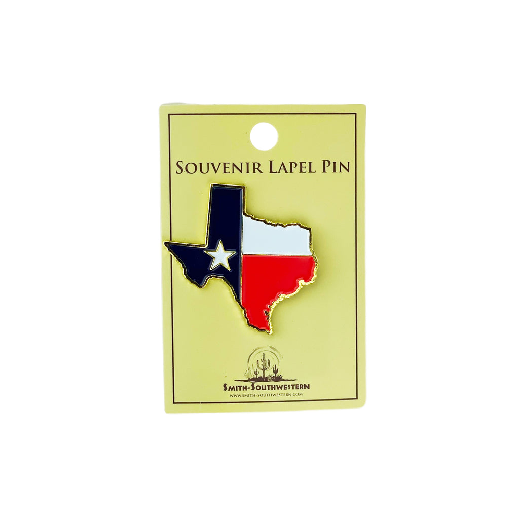 Pin- Texas Shape Flag