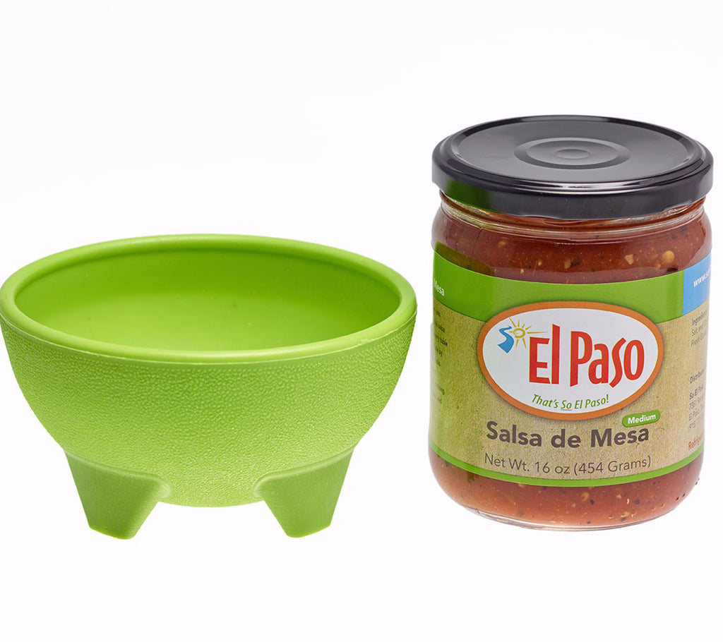 Salsa de Mesa with Green Bowl