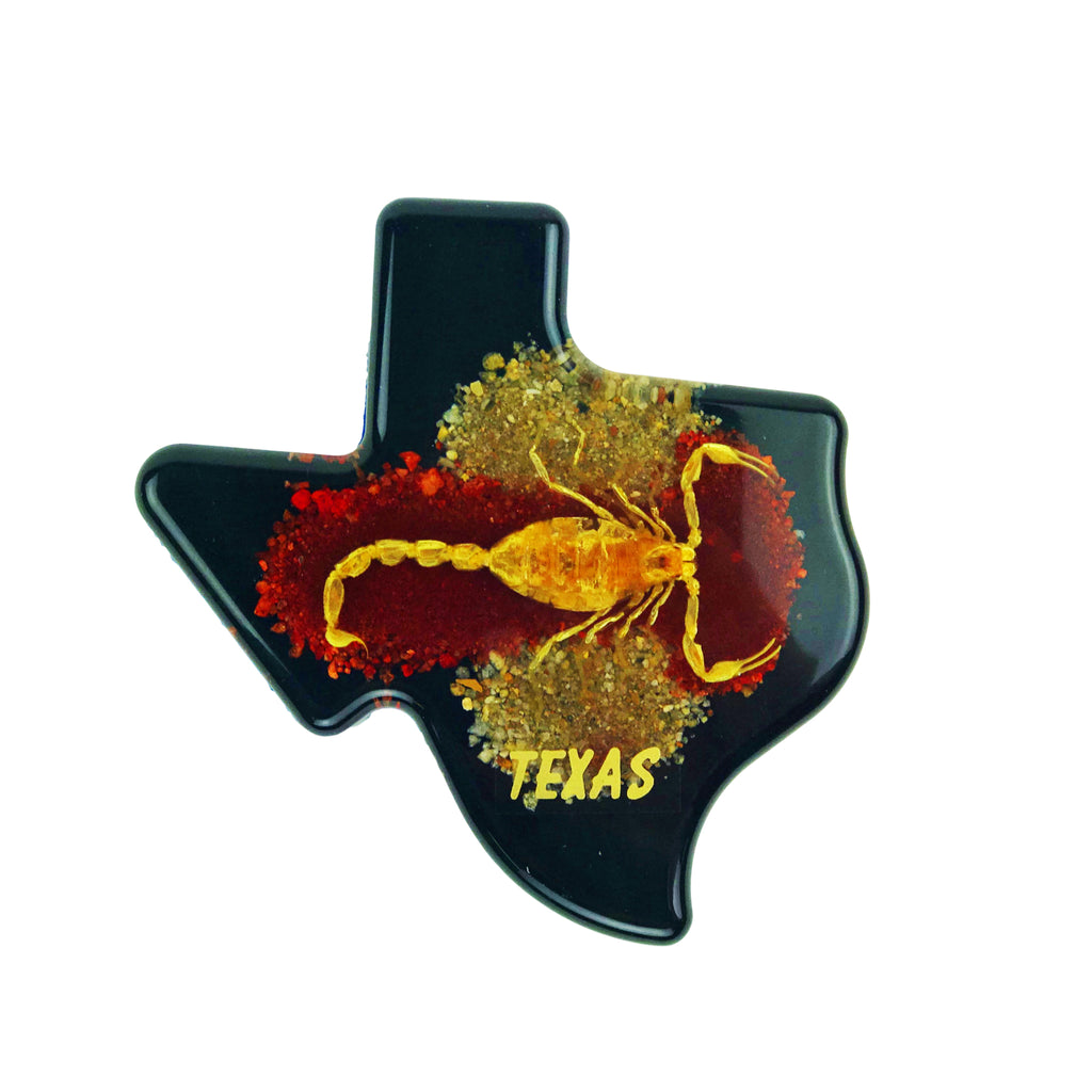 Scorpion Texas Paperweight