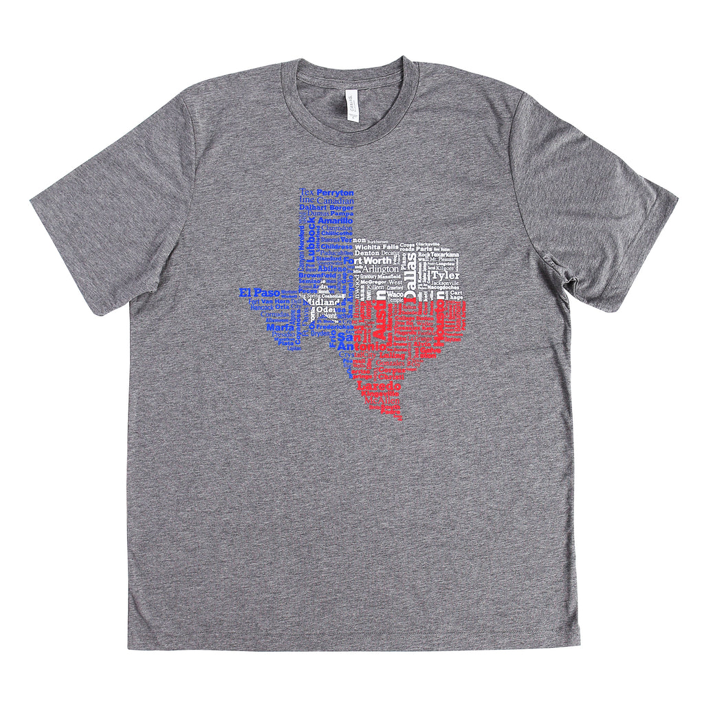 Shirt - Texas Cities
