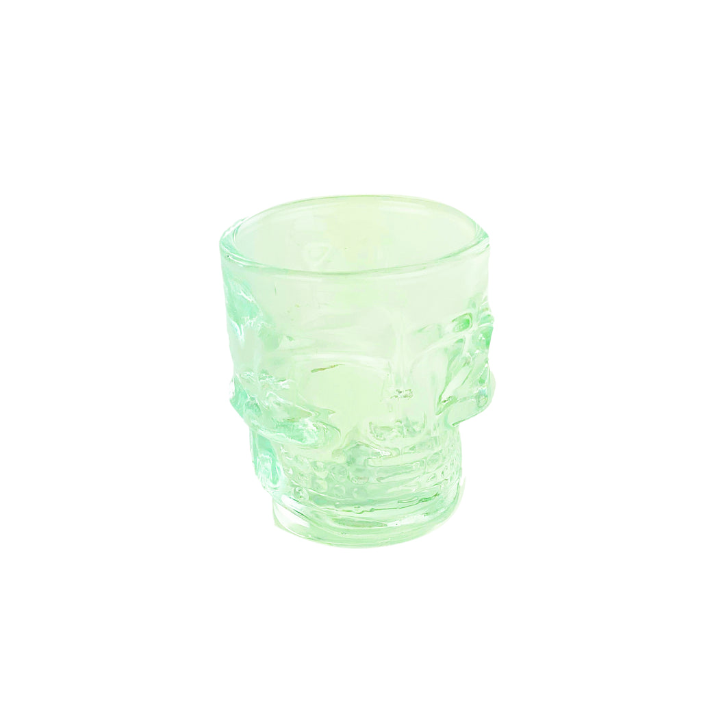 Shot Glass- Clear Skull