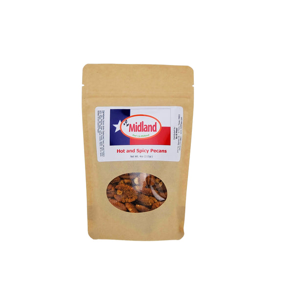So Midland Hot and Spicy Pecans