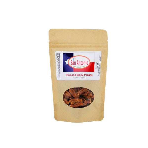 So San Antonio- Hot & Spicy Pecans