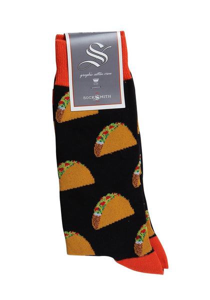 Socks(M) - Tacos Black