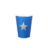 Shot Glass - TX Flag Glitter