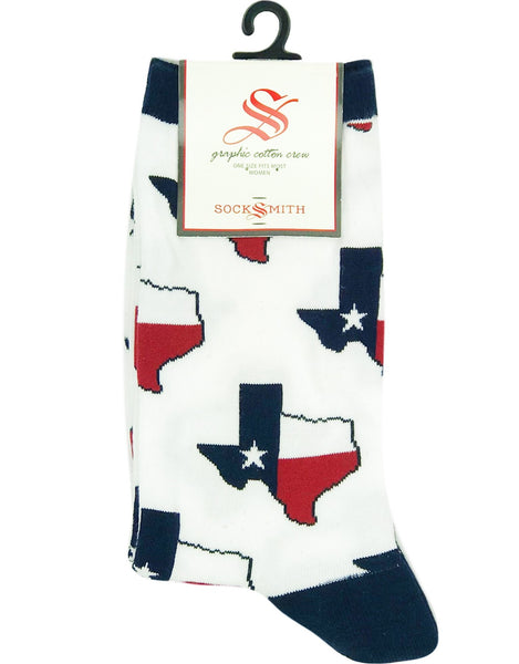 Socks(W) - Texas White