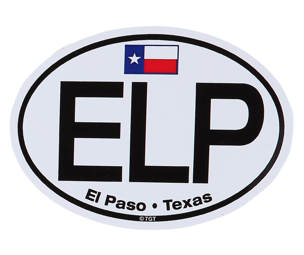 Sticker - EP w/TX Flag