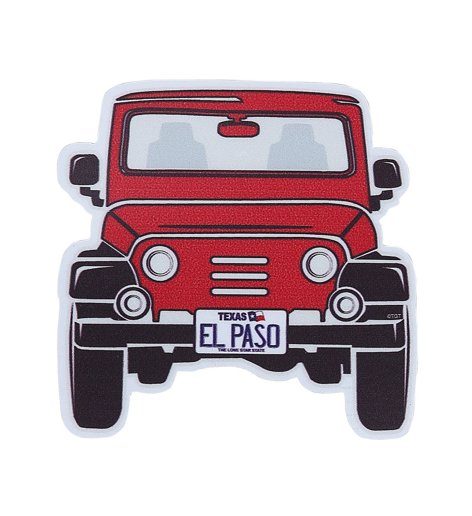 Sticker - Jeep Red EP