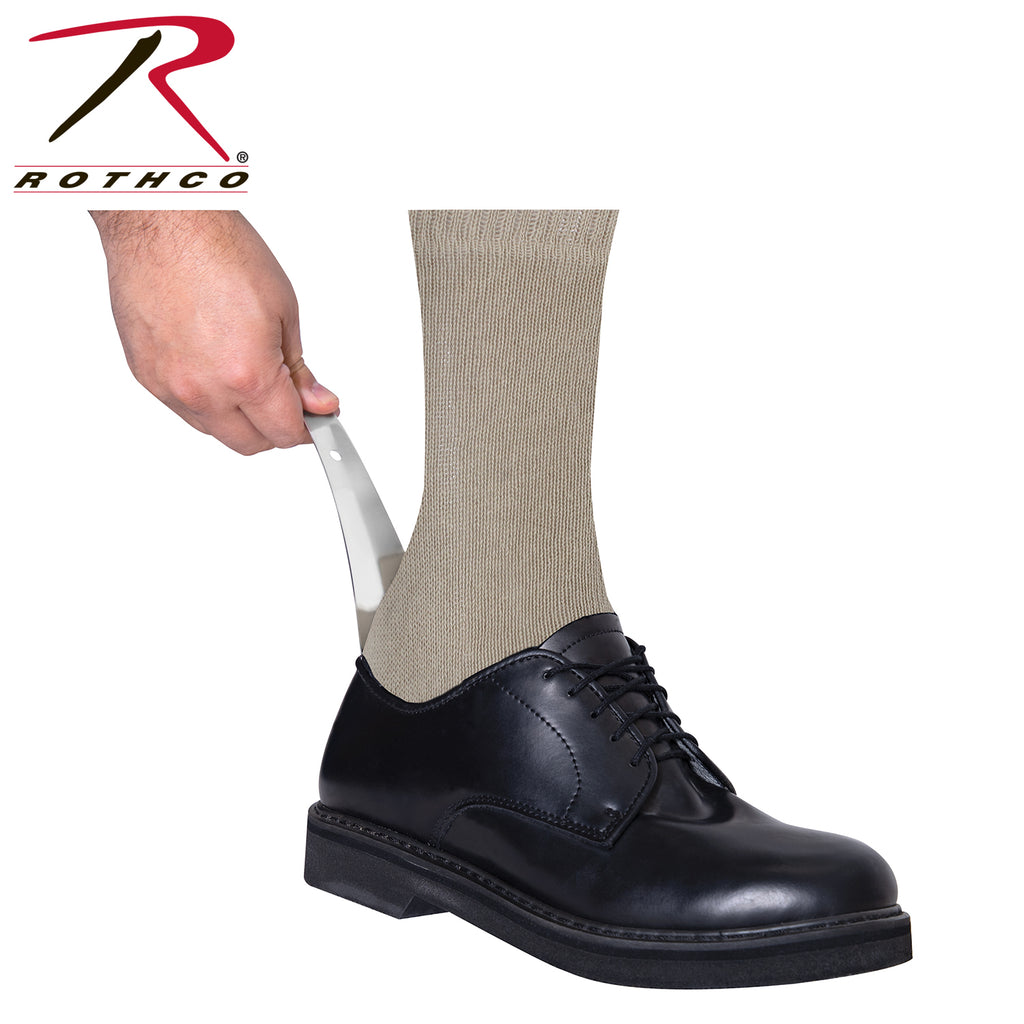 Rothco 6 Inch Stainless Steel Shoe Horn
