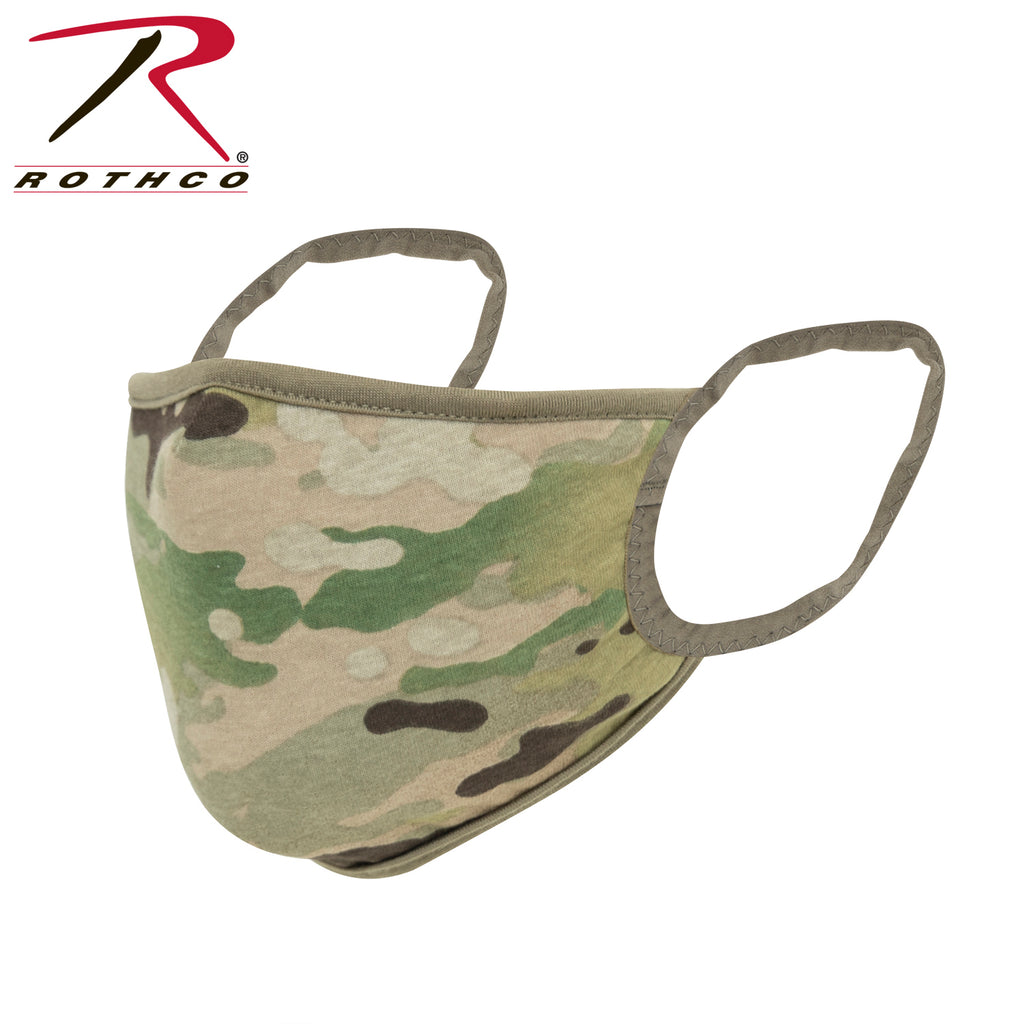 Rothco Reusable 3-Layer Polyester Face Mask - OCP