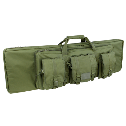 "Condor double 42"" rifle case"