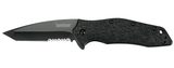 Kershaw KURO TANTO - BLK/BLK SERRATED