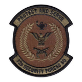 72nd SFS Squadron Patch