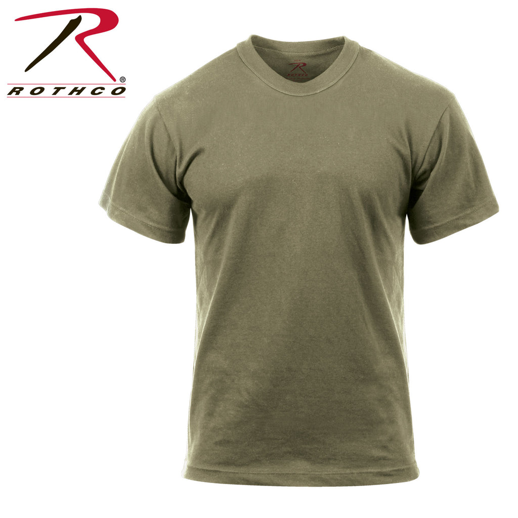 Rothco Solid Color 100% Cotton T-Shirt